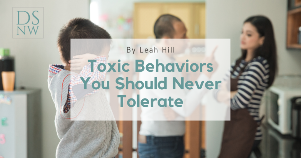 Toxic Behaviors You Should Never Tolerate   Divorce Strategies Northwest